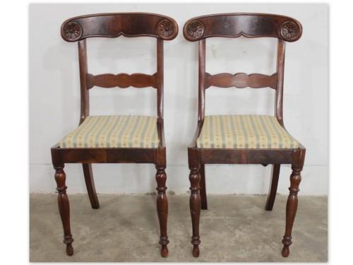 6019 Eleganckie Krzesło Toczone Nogi