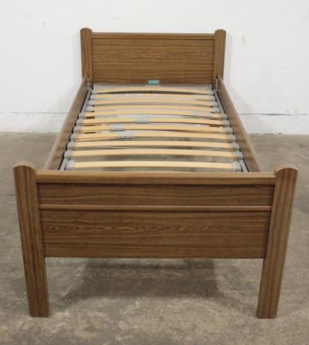 6883 łóżko Okleina Regulowany Stelaż 100x190